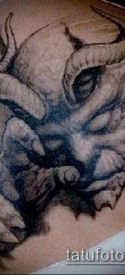 фото тату черт (devil tattoo) (значение) – пример рисунка – 050 tatufoto.com