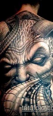 фото тату черт (devil tattoo) (значение) – пример рисунка – 067 tatufoto.com