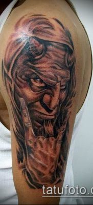 фото тату черт (devil tattoo) (значение) – пример рисунка – 072 tatufoto.com