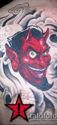 фото тату черт (devil tattoo) (значение) – пример рисунка – 074 tatufoto.com
