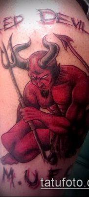 фото тату черт (devil tattoo) (значение) – пример рисунка – 078 tatufoto.com