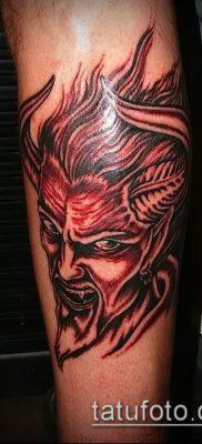 фото тату черт (devil tattoo) (значение) – пример рисунка – 079 tatufoto.com
