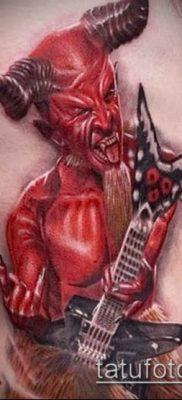 фото тату черт (devil tattoo) (значение) – пример рисунка – 080 tatufoto.com