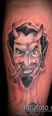 фото тату черт (devil tattoo) (значение) – пример рисунка – 083 tatufoto.com