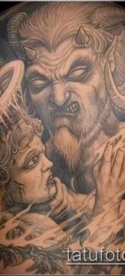фото тату черт (devil tattoo) (значение) – пример рисунка – 085 tatufoto.com
