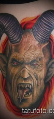 фото тату черт (devil tattoo) (значение) – пример рисунка – 087 tatufoto.com