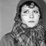 Жители Москвы с татуировками на лице - берта - 19 лет - фото