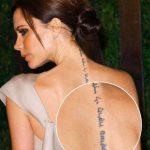 Татуировки Виктории Бекхэм фото 2