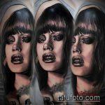 РЕАЛИСТИЧНЫЕ ТАТУИРОВКИ №323 - эксклюзивный вариант рисунка, который хорошо можно использовать для доработки и нанесения как реалистичные татуировки для девушек