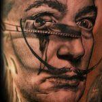 РЕАЛИСТИЧНЫЕ ТАТУИРОВКИ №349 - классный вариант рисунка, который успешно можно использовать для переработки и нанесения как реалистичные татуировки для мужчин