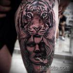 РЕАЛИСТИЧНЫЕ ТАТУИРОВКИ №593 - классный вариант рисунка, который легко можно использовать для переработки и нанесения как реалистичные татуировки для девушек
