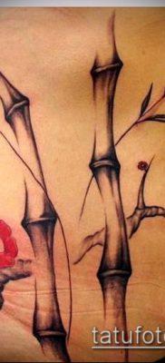 ТАТУИРОВКА БАМБУК №353 – интересный вариант рисунка, который легко можно использовать для переработки и нанесения как татуировка бамбук