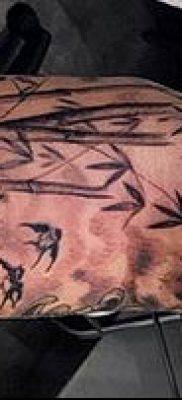 ТАТУИРОВКА БАМБУК №41 – крутой вариант рисунка, который удачно можно использовать для переработки и нанесения как татуировка бамбук