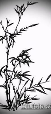 ТАТУИРОВКА БАМБУК №462 – крутой вариант рисунка, который легко можно использовать для переделки и нанесения как татуировка бамбук на руке