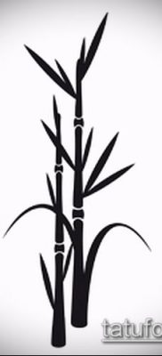 ТАТУИРОВКА БАМБУК №813 – классный вариант рисунка, который легко можно использовать для переработки и нанесения как татуировка бамбук