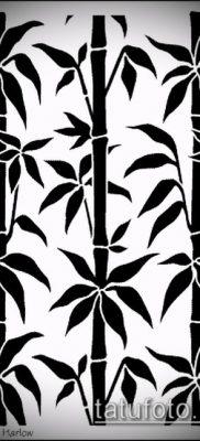 ТАТУИРОВКА БАМБУК №956 – достойный вариант рисунка, который легко можно использовать для преобразования и нанесения как татуировка бамбук на руке