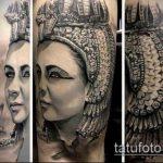 ТАТУИРОВКА КЛЕОПАТРА №631 - эксклюзивный вариант рисунка, который хорошо можно использовать для переработки и нанесения как художественная татуировка клеопатра