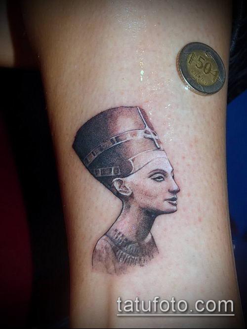 ТАТУИРОВКА КЛЕОПАТРА №504 - интересный вариант рисунка, который удачно можно использовать для преобразования и нанесения как татуировка клеопатра