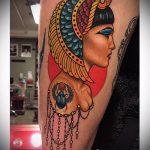 ТАТУИРОВКА КЛЕОПАТРА №196 - эксклюзивный вариант рисунка, который успешно можно использовать для переделки и нанесения как татуировка клеопатра