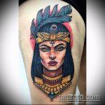 ТАТУИРОВКА КЛЕОПАТРА №885 - классный вариант рисунка, который легко можно использовать для переработки и нанесения как татуировка клеопатра