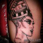 ТАТУИРОВКА КЛЕОПАТРА №495 - крутой вариант рисунка, который удачно можно использовать для переработки и нанесения как татуировка клеопатра