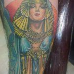 ТАТУИРОВКА КЛЕОПАТРА №708 - уникальный вариант рисунка, который легко можно использовать для доработки и нанесения как татуировка клеопатра