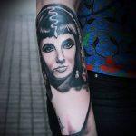 ТАТУИРОВКА КЛЕОПАТРА №674 - крутой вариант рисунка, который хорошо можно использовать для преобразования и нанесения как татуировка клеопатра