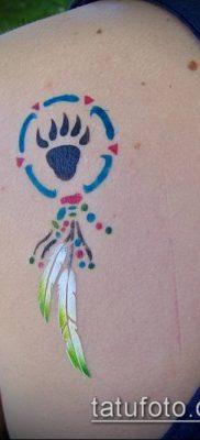 фото ТАТУИРОВКА ЛАПА (Tattoo) (значение) – пример рисунка – 011 tatufoto.com