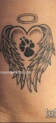 фото ТАТУИРОВКА ЛАПА (Tattoo) (значение) – пример рисунка – 015 tatufoto.com