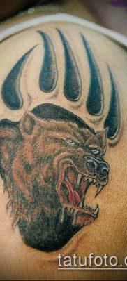 фото ТАТУИРОВКА ЛАПА (Tattoo) (значение) – пример рисунка – 041 tatufoto.com
