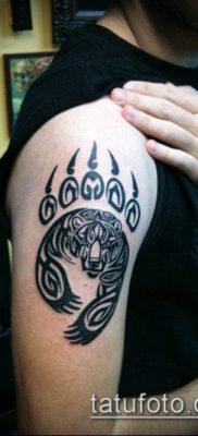 фото ТАТУИРОВКА ЛАПА (Tattoo) (значение) – пример рисунка – 044 tatufoto.com