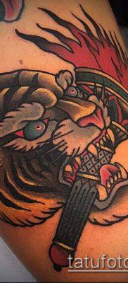 ТАТУИРОВКА ФАКЕЛ №507 – интересный вариант рисунка, который удачно можно использовать для переделки и нанесения как татуировка факел с колючей проволокой