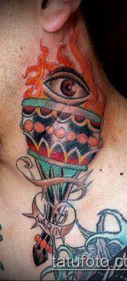 ТАТУИРОВКА ФАКЕЛ №53 – достойный вариант рисунка, который хорошо можно использовать для переделки и нанесения как татуировка факел на плече