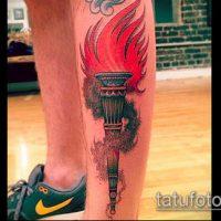 Значение тату факел