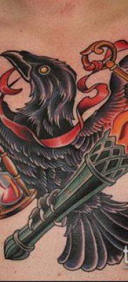 ТАТУИРОВКА ФАКЕЛ №995 – крутой вариант рисунка, который легко можно использовать для переделки и нанесения как тату факел на ноге
