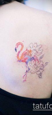 фото ТАТУИРОВКА ФЛАМИНГО (Tattoo) (значение) – пример рисунка – 004 tatufoto.com