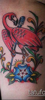 фото ТАТУИРОВКА ФЛАМИНГО (Tattoo) (значение) – пример рисунка – 006 tatufoto.com
