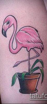 фото ТАТУИРОВКА ФЛАМИНГО (Tattoo) (значение) – пример рисунка – 016 tatufoto.com