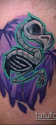 фото ТАТУИРОВКА ФЛАМИНГО (Tattoo) (значение) – пример рисунка – 023 tatufoto.com