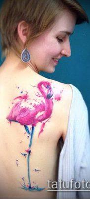 фото ТАТУИРОВКА ФЛАМИНГО (Tattoo) (значение) – пример рисунка – 030 tatufoto.com