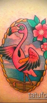 фото ТАТУИРОВКА ФЛАМИНГО (Tattoo) (значение) – пример рисунка – 032 tatufoto.com