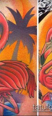 фото ТАТУИРОВКА ФЛАМИНГО (Tattoo) (значение) – пример рисунка – 044 tatufoto.com