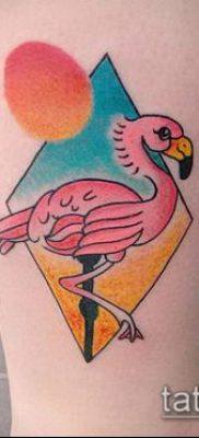 фото ТАТУИРОВКА ФЛАМИНГО (Tattoo) (значение) – пример рисунка – 048 tatufoto.com