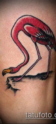 фото ТАТУИРОВКА ФЛАМИНГО (Tattoo) (значение) – пример рисунка – 052 tatufoto.com