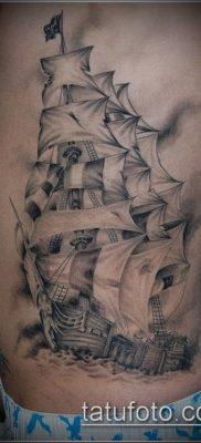 фото ТАТУИРОВКА ФРЕГАТ (Tattoo) (значение) – пример рисунка – 010 tatufoto.com