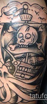 фото ТАТУИРОВКА ФРЕГАТ (Tattoo) (значение) – пример рисунка – 029 tatufoto.com