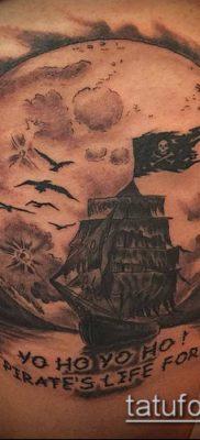 фото ТАТУИРОВКА ФРЕГАТ (Tattoo) (значение) – пример рисунка – 031 tatufoto.com