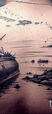 фото ТАТУИРОВКА ФРЕГАТ (Tattoo) (значение) – пример рисунка – 041 tatufoto.com