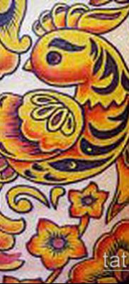 ТАТУИРОВКА ХОХЛОМА №187 – уникальный вариант рисунка, который легко можно использовать для преобразования и нанесения как татуировка хохлома шаблон