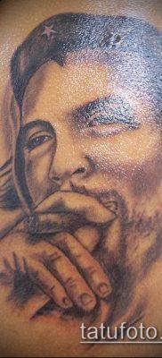 ТАТУИРОВКА ЧЕ ГЕВАРА №507 – крутой вариант рисунка, который успешно можно использовать для переделки и нанесения как татуировка че гевара